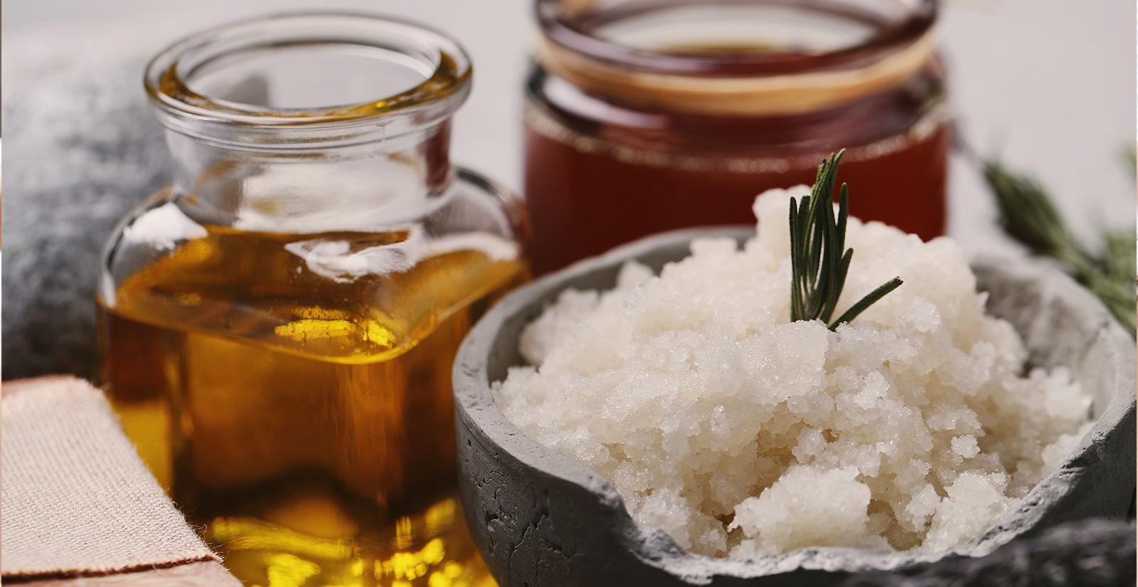 honey almond treatment