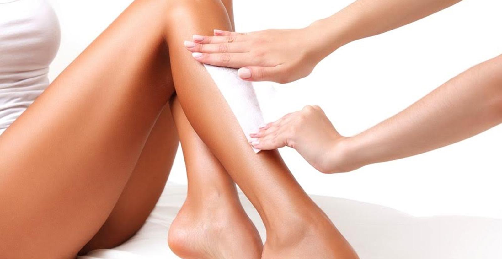 Leg waxing treatments